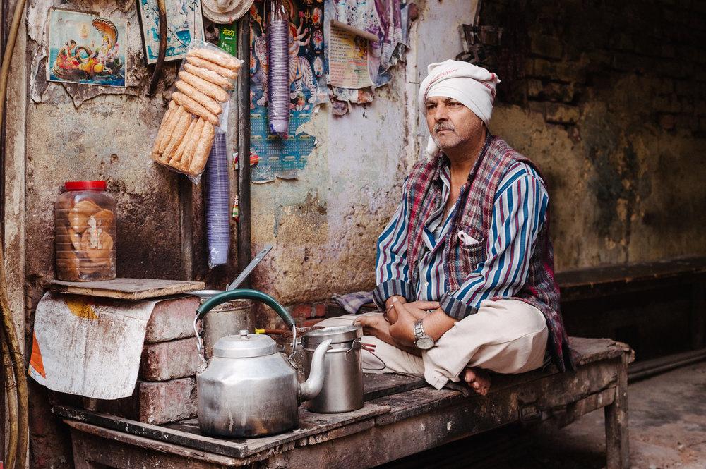 Tea Merchant - New Delhi, India