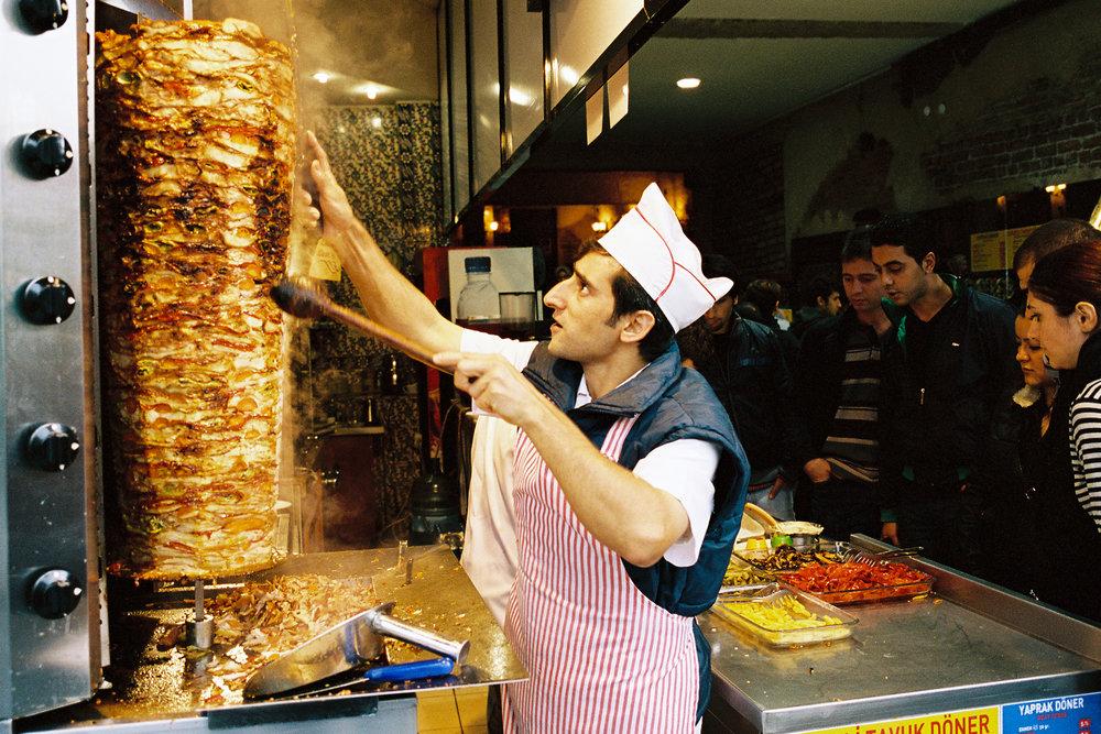 Shawarma Chef - Istanbul, Turkey