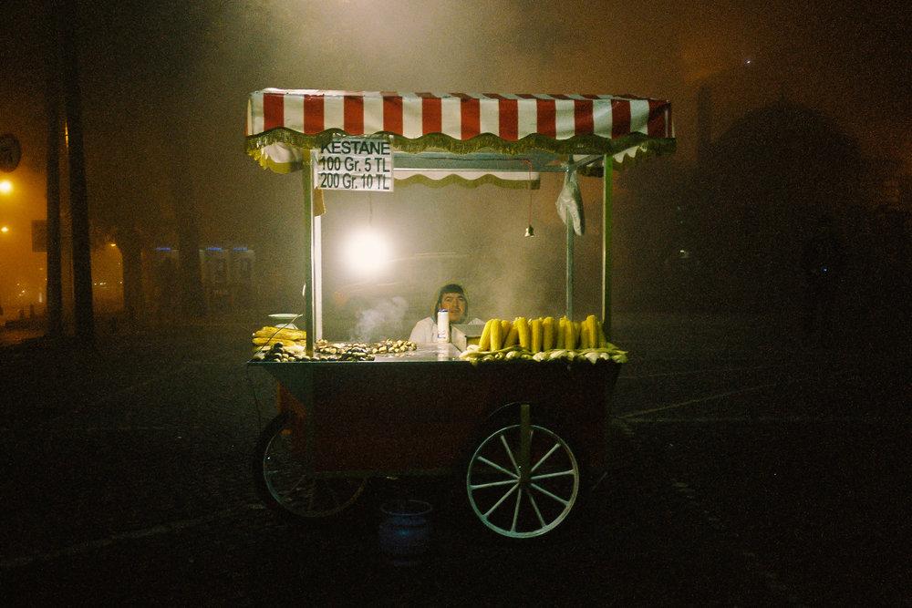Food Cart Chef - Istanbul, Turkey