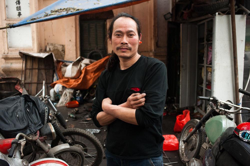 Motorbike Salesman - Hanoi, Vietnam