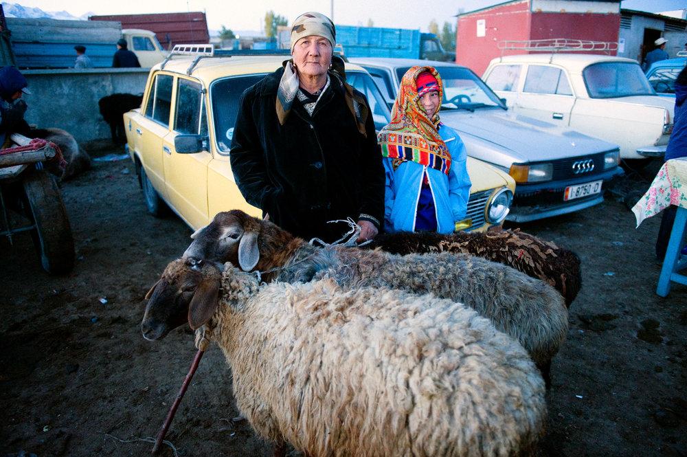 Livestock Merchant - Karakol, Kyrgyzstan