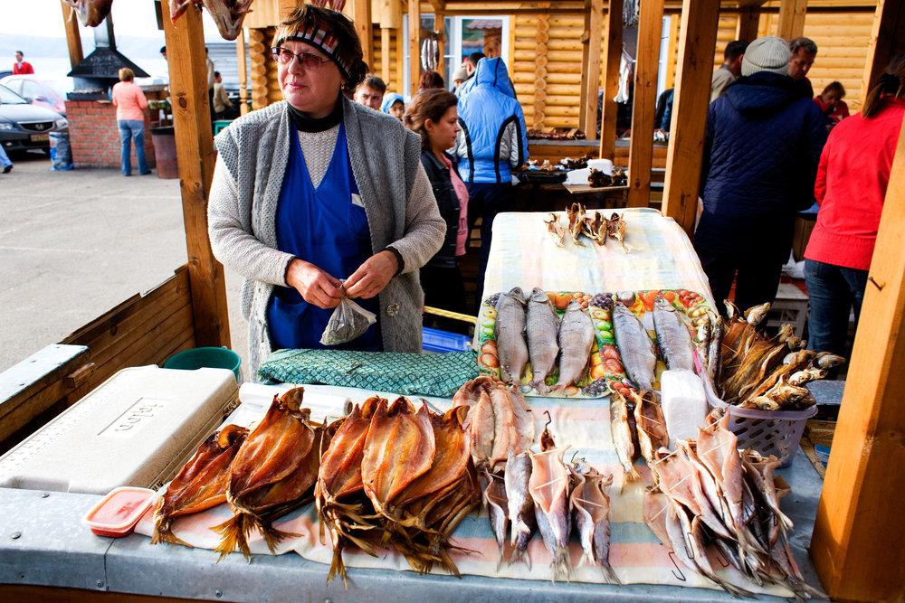 Fishmonger - Irkutsk, Russia