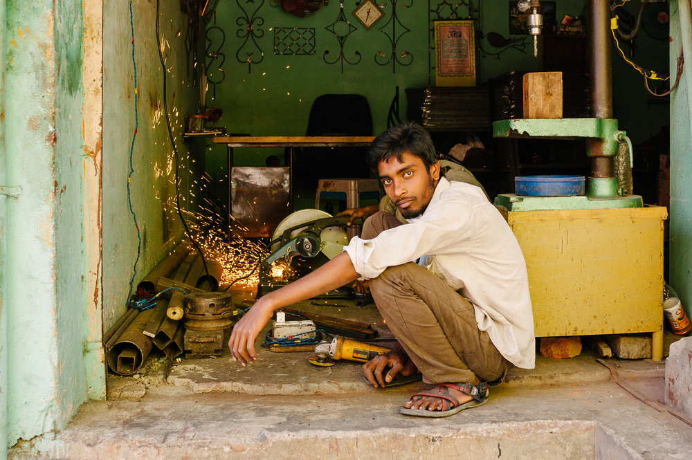 Metal Cutting Shop - New Delhi, India