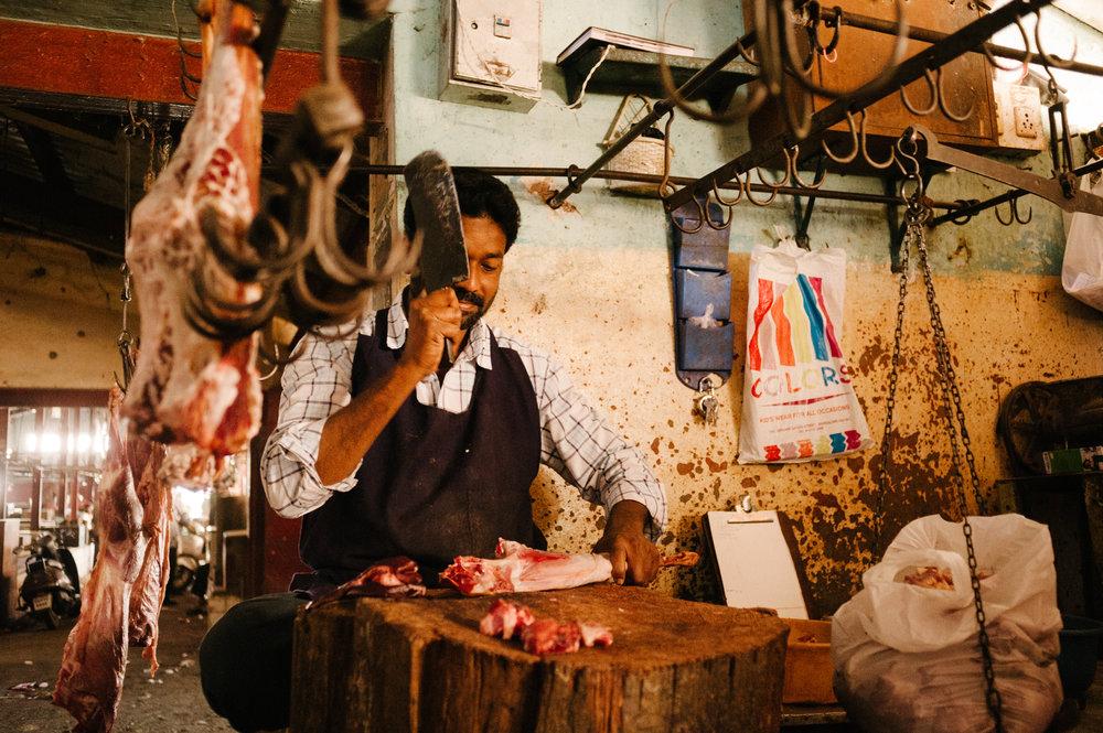 Butcher - New Delhi, India