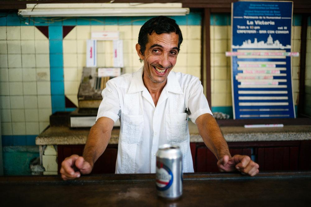 Bartender - Havana, Cuba