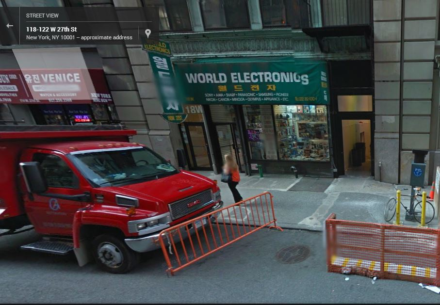 Image courtesy of Google Map Street View