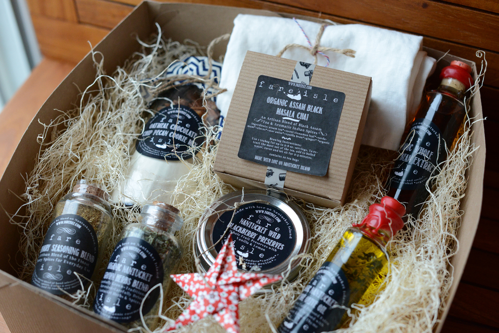 Custom Made Fare Isle Gift Set
