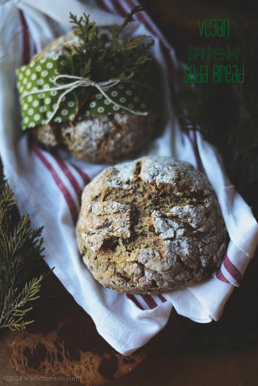 fare isle blog irish soda bread recipe vegan