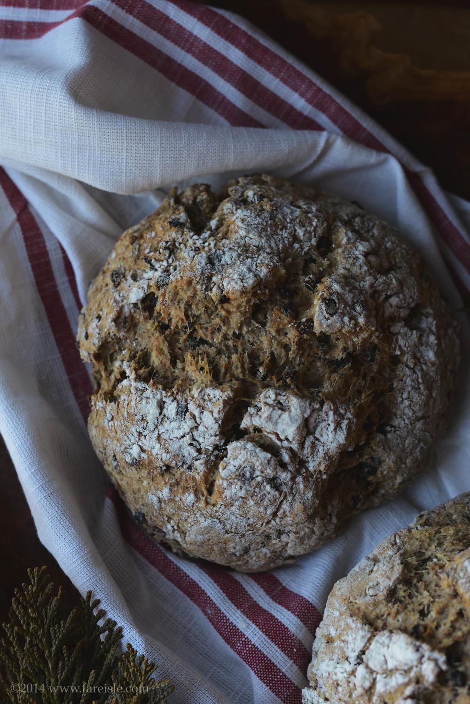 fare isle blog vegan Irish soda bread recipe