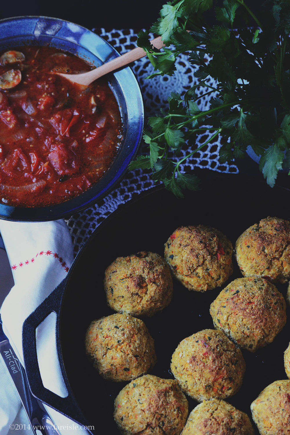 Fare Isle Blog Recipe: Vegan Un-Meatballs
