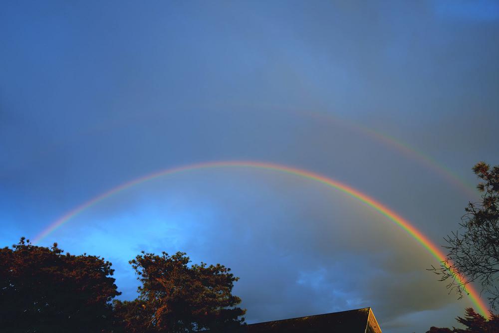 Fare Isle Blog Nantucket Spring Rainbow