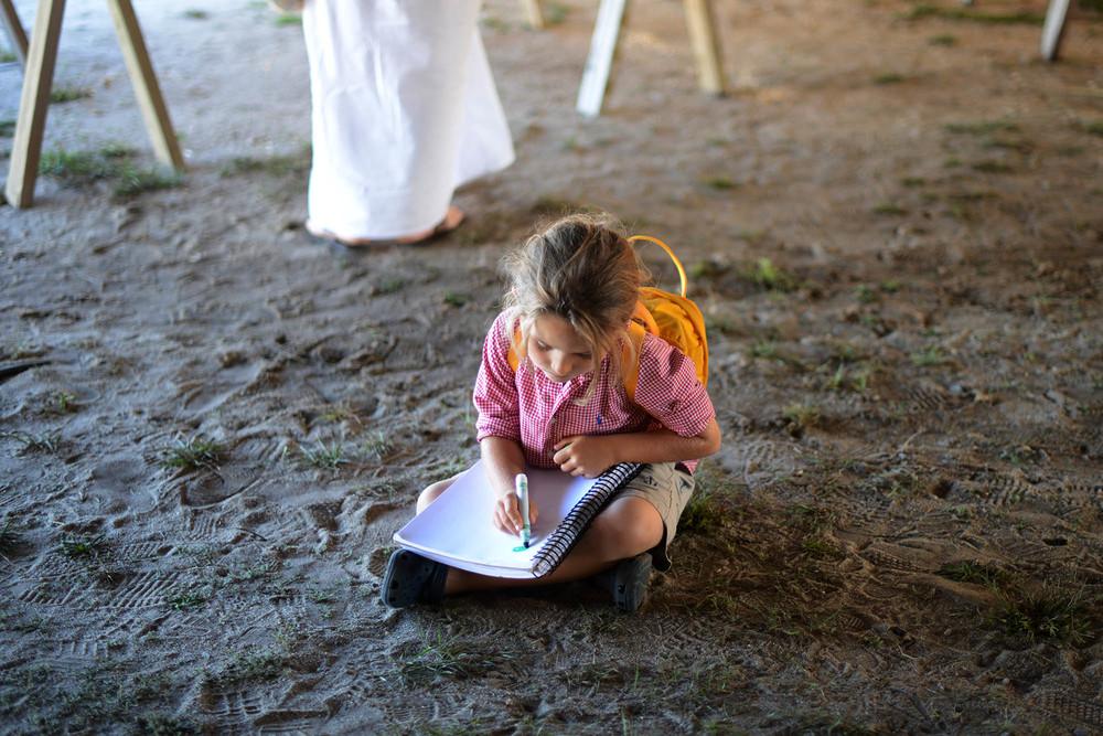 Journaling at the fair