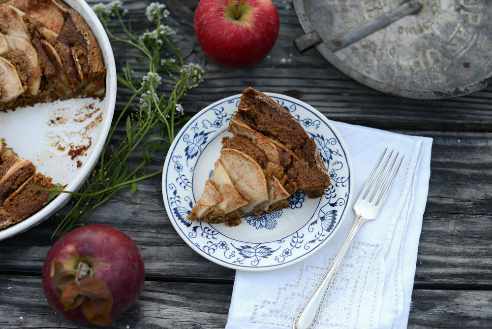 Vegan Maple Spice Cake via Fare Isle