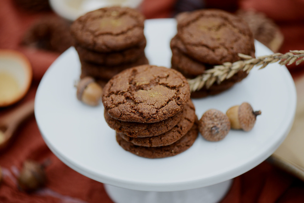 Vegan Gingersnaps by Fare Isle