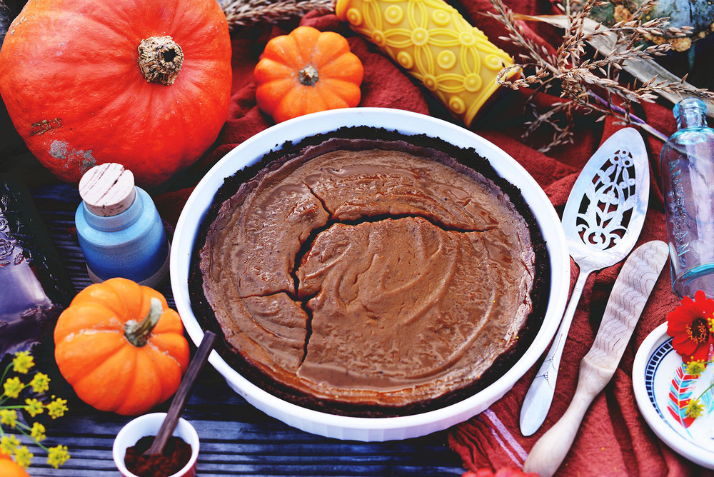 Vegan Pumpkin Pie Recipe by Fare Isle