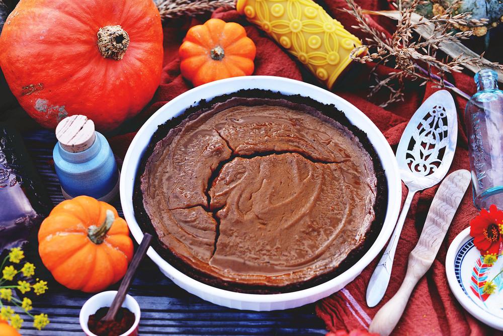 Vegan Pumpkin Pie Recipe by Fare Isle