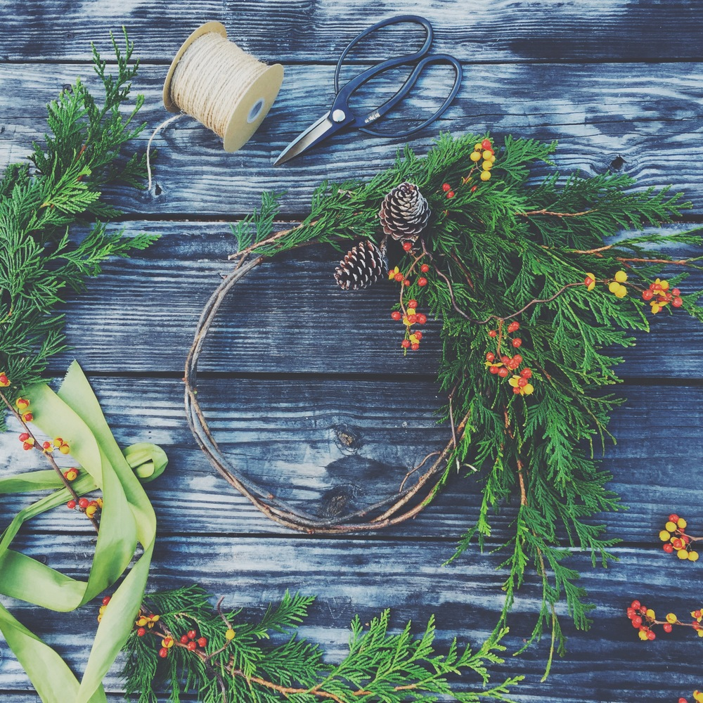 Fare Isle Winter Wreath & Garland Potluck ~ Nantucket