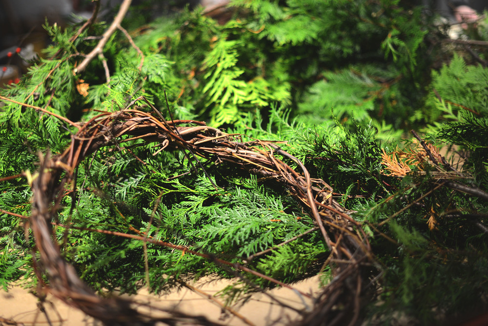 Fare Isle Gatherings: Winter Wreath Potluck