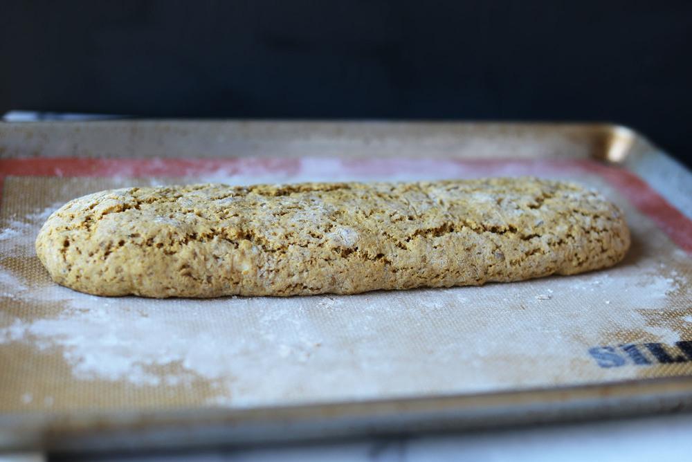 Vegan Lemon-Anise-Almond Cornmeal Biscotti by Fare Isle