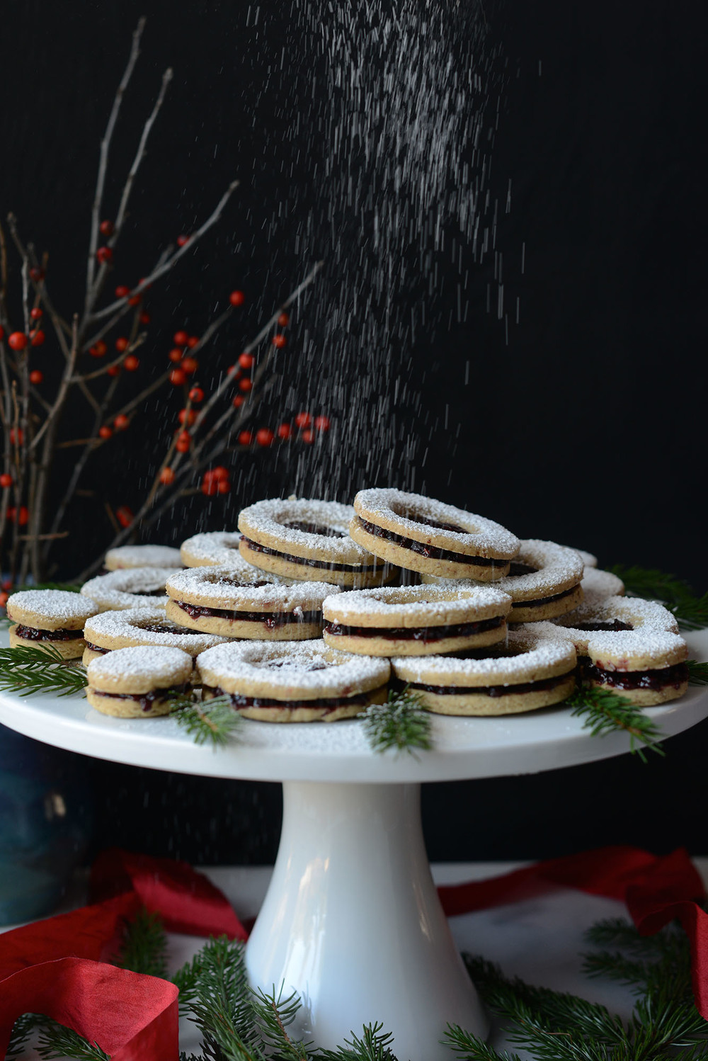 Recipe: Vegan Linzer Cookies with Raspberry-Maple Jam
