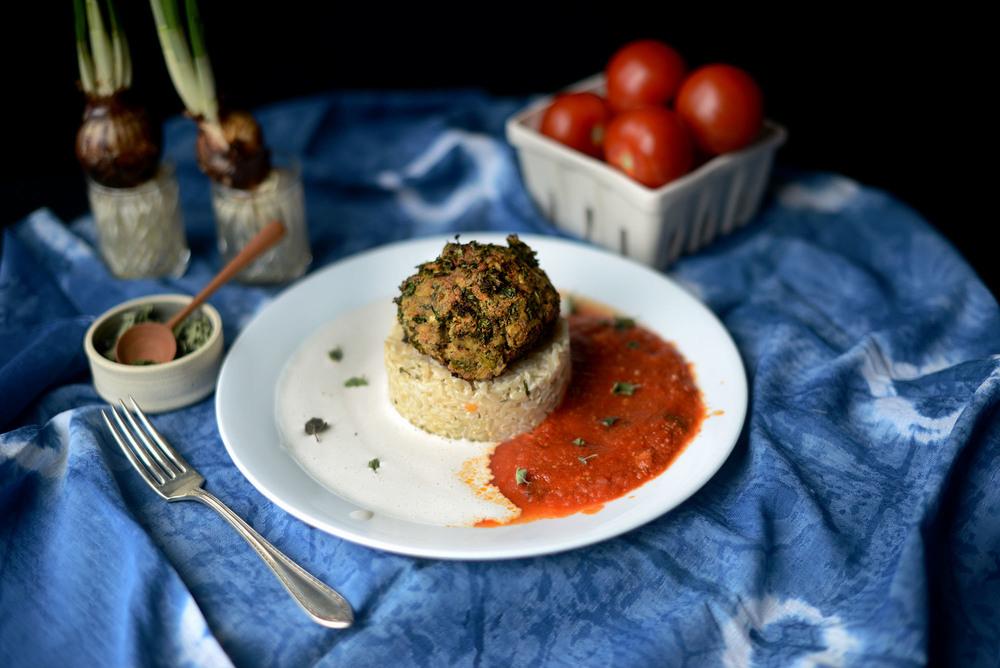 Fare Isle | Vegan Kale Un-Meatballs Recipe