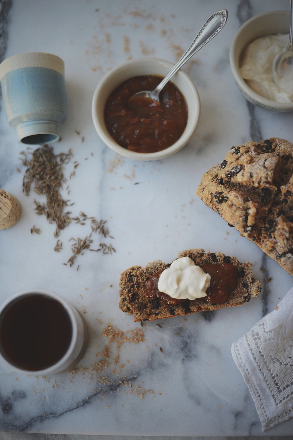 Fare Isle | Vegan Spelt Soda Bread with Caraway & Currants - A St. Patty's Day Tradition