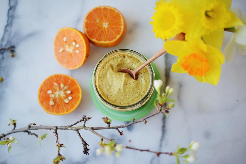 Fare Isle | Organic Orange Maple Mustard for Nantucket Looms