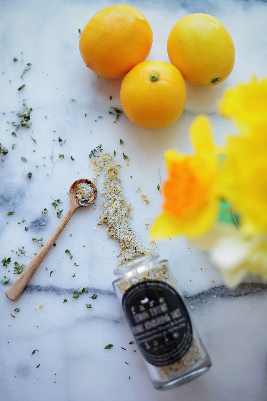 Fare Isle | Organic Lemon Thyme Herbal Finishing Salt for Nantucket Looms