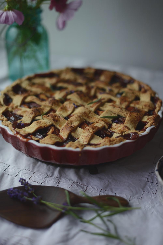 Fare Isle | Apricot Nectarine Blackberry Tart - Vegan