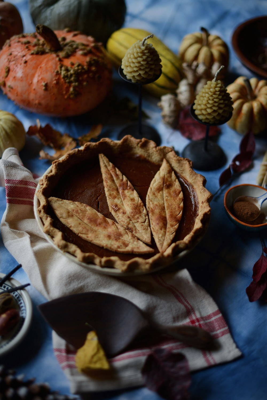 Fare Isle | Easy Vegan Maple~Pumpkin Pie