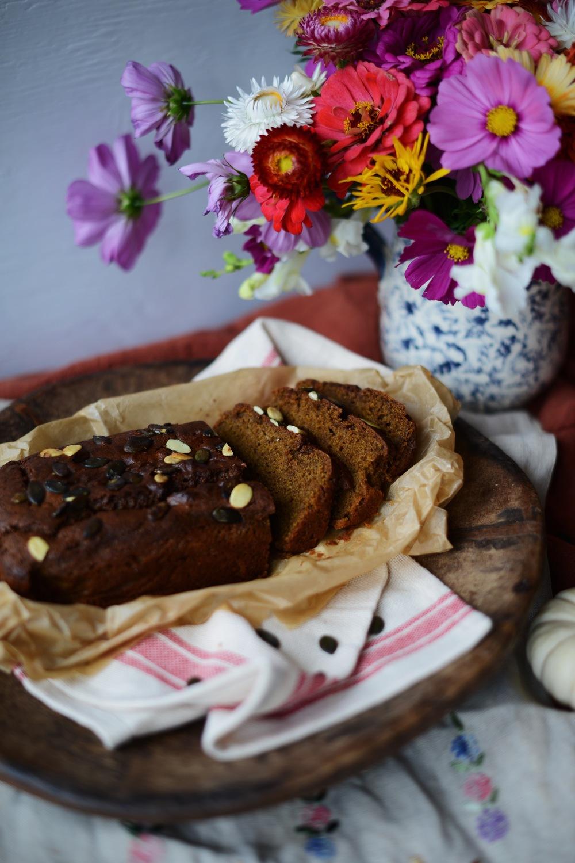 Fare Isle | Spiced Pumpkin Bread - Vegan + Whole Grain