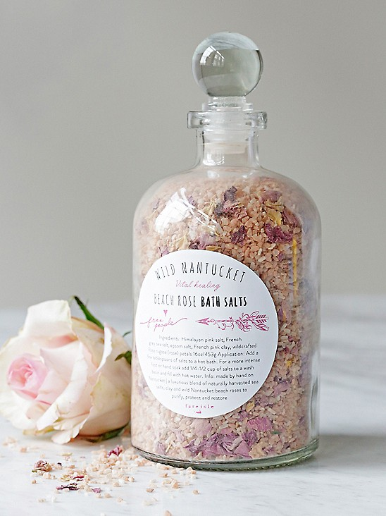 Fare Isle x Free People Wild Nantucket Rose Bath Saltsn