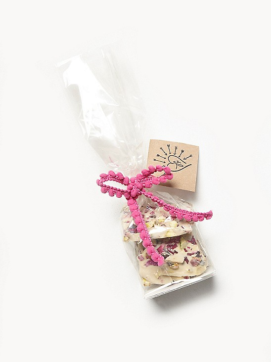 Fare Isle x Free People Wild Nantucket Rose Vegan Chocolate Flower Bark