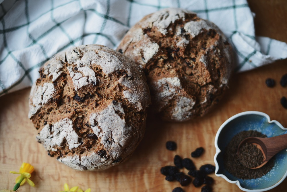 Fare Isle | Vegan Spelt Irish Soda Bread | Recipe + Video ~ celebrate St. Patrick's Day with this delicious plantbased version of a classic Irish quickbread