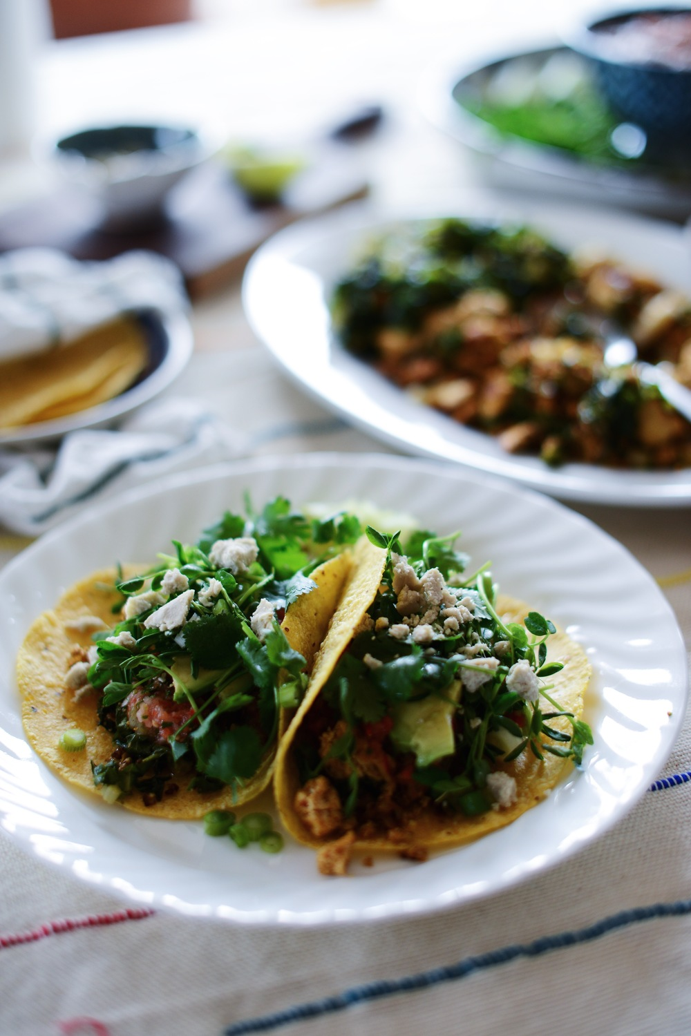 Fare Isle | Mother's Day Breakfast Taco Brunch - Vegan + GF