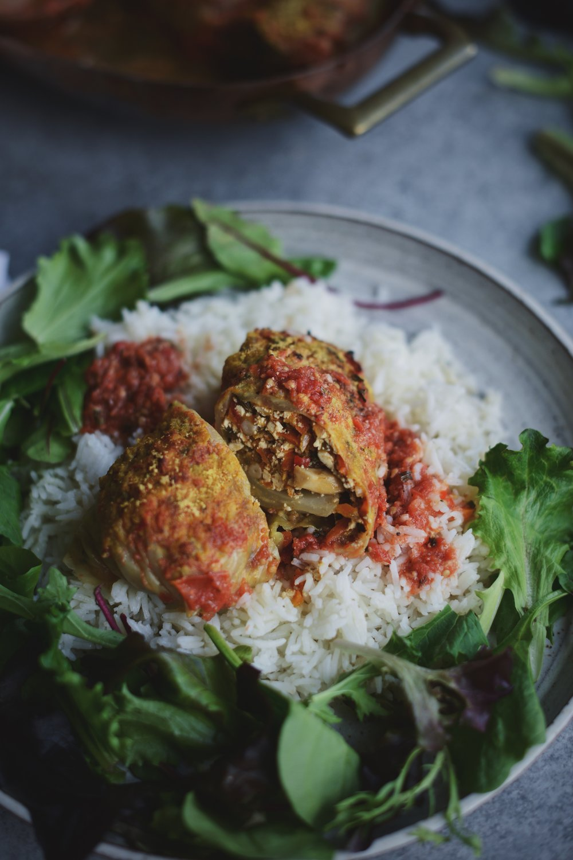 Fare Isle | Vegan Cabbage Rolls