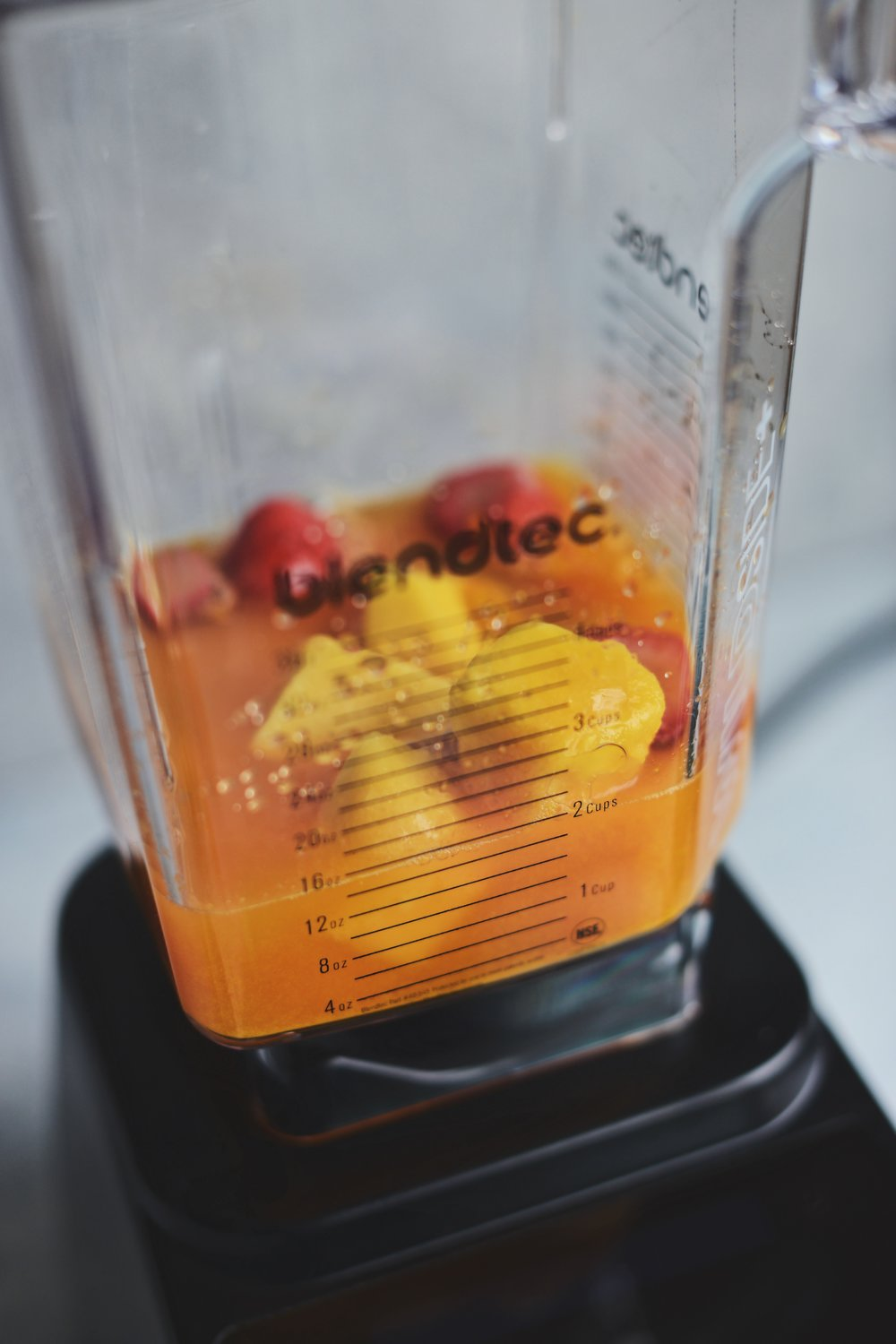 Fare Isle | Sunshine Immunity Defense Smoothie for Blendtec