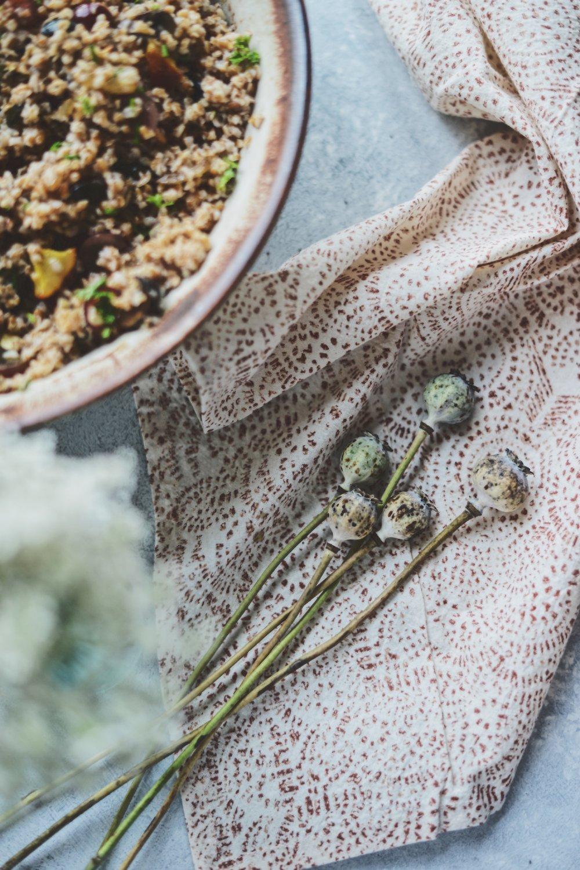 Fare Isle x Coyuchi | Vegan Harvest Bulgar Salad