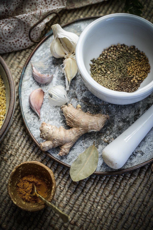 Fare Isle x Coyuchi - Nourishing Mung Dal Stew - Vegan, GF