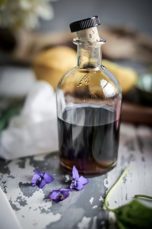 Fare Isle | Wild Violet Syrup & Magical Color-Changing Pink Violet Lemonade