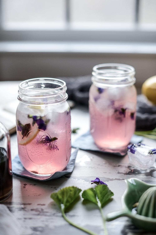 DSC_3377.jpgFare Isle | Wild Violet Syrup & Magical Color-Changing Pink Violet Lemonade