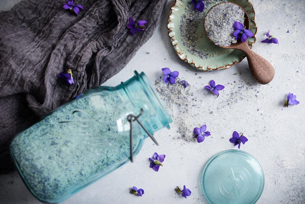 Fare Isle | Wild Violet Sugar