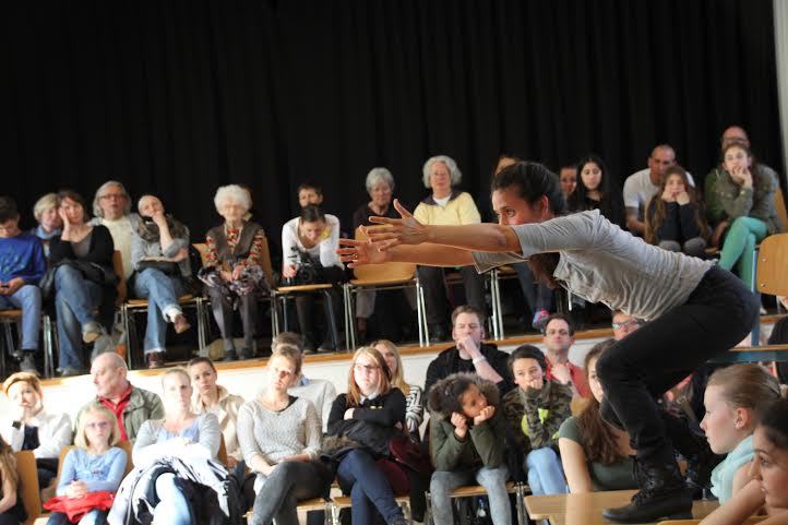 School Performances of   Klasse   with students at the Ida Ehre School, Hamburg, Germany, May 2015