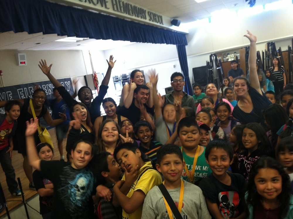 Successful Performance and Workshop with Gluck Touring Dance Ensemble and the 3rd Grade, Spring 2013