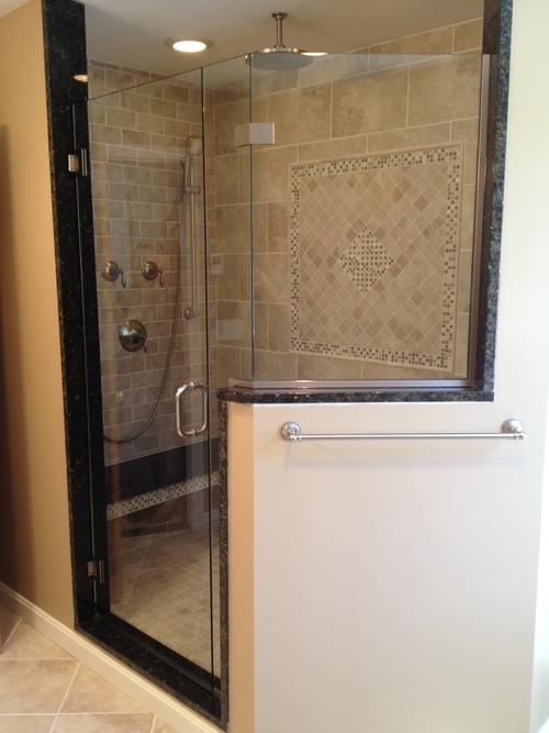 SHOWER DOOR GALLERY — Unique Shower Door – Custom Frameless Shower ...