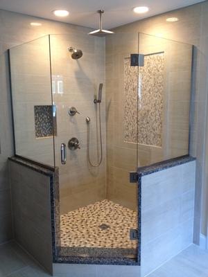 Unique Shower Door Custom Frameless Shower Doors In Franklin
