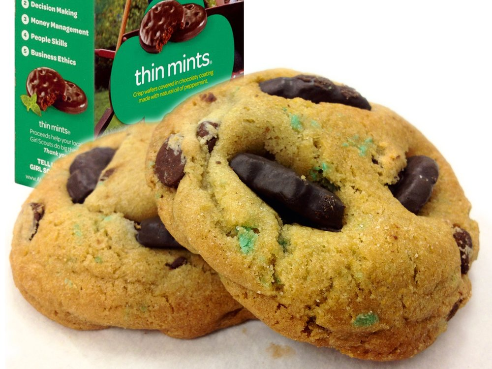For a limited time through March, these minty treats are available daily unless we sell out!
