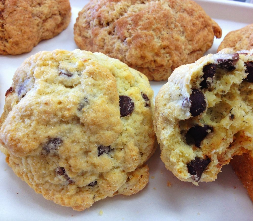 Banana Chip scone