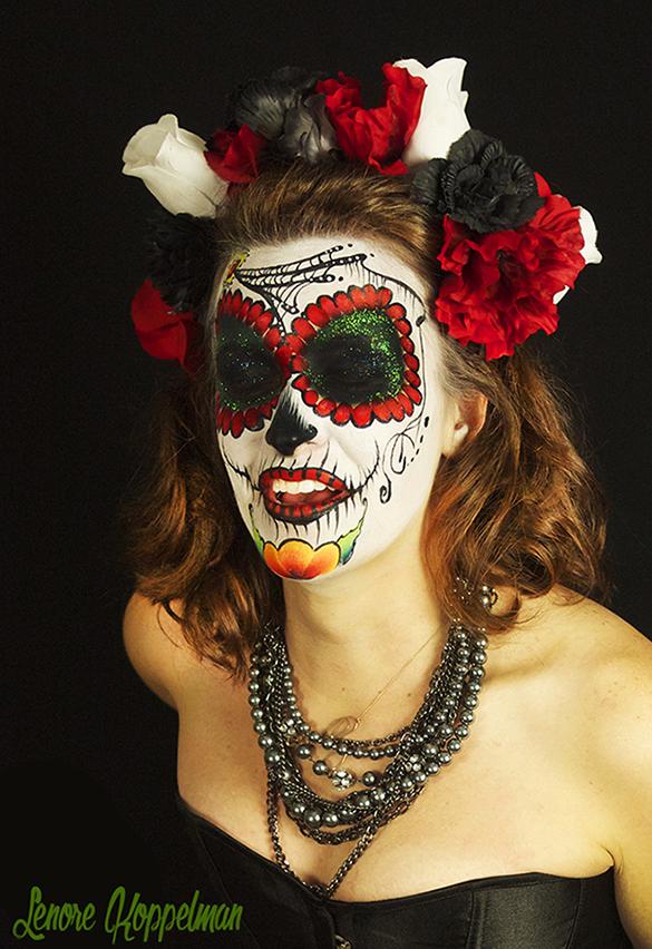 Sugar Skull Queen of Astoria by Lenore Koppelman.jpg