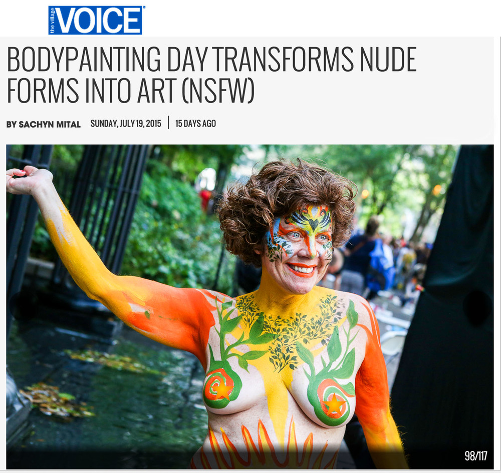 the village voice gwen body painting day.jpg